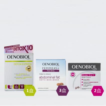 OENOBIOL®歐諾美 減腩隔脂 │ 1個月療程